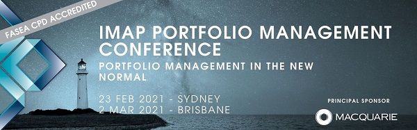 IMAP Portfolio Management Conference 2021 Sydney and Perth